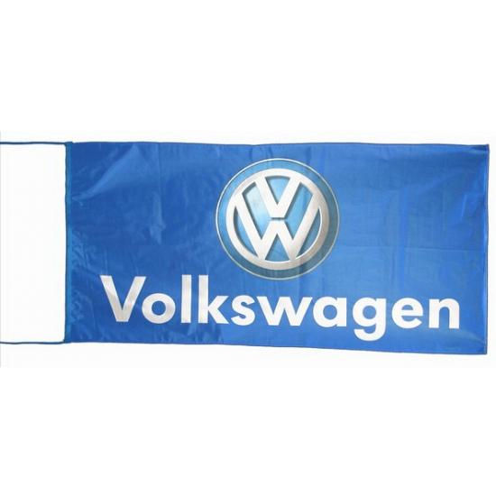 Halloween Blauwe Garage Vlag Volkswagen In De Griezeligste Feestwinkel