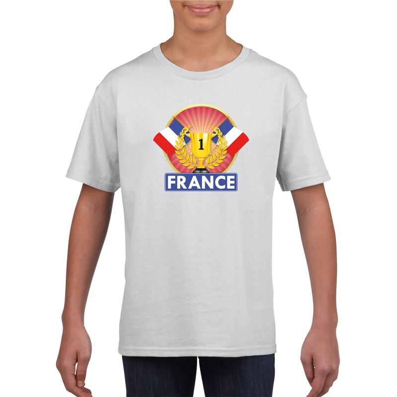 Halloween In Frankrijk.Halloween Wit Frankrijk Supporter Kampioen Shirt Kinderen In